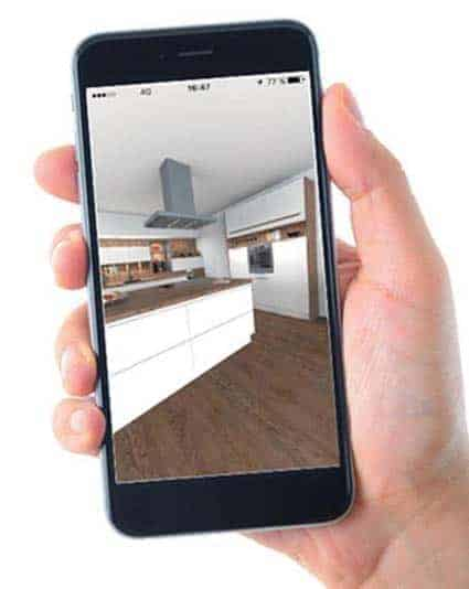 cuisine équipée Ixina application conception 3D