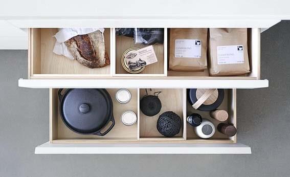 cuisine de luxe  aménagement tiroir Bulthaup