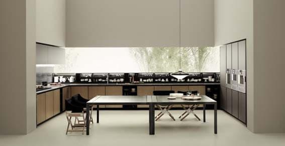 cuisine de luxe Luigi Massoni design italien Boffi