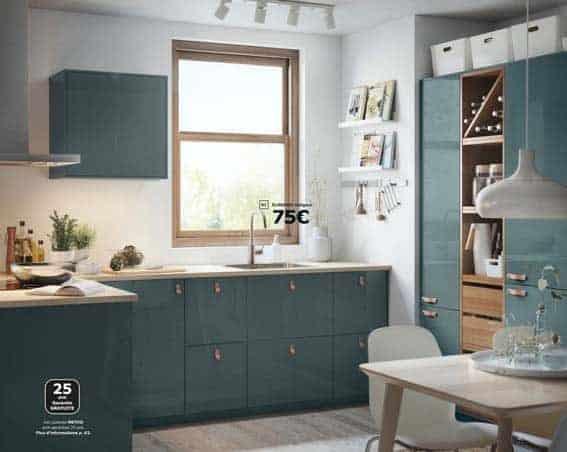 cuisine équipée IKEA design